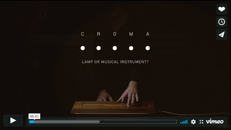 Croma Lamp Video presentazione